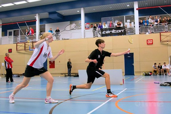 Badmintonschool Barendrecht ook op RSK aanwezig en RJC Delft - Edwin Sundermeijer