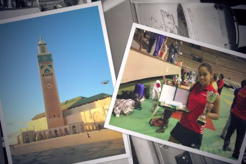 Gayle Mahulette over haar Open International Marokko - Gayle Mahulette