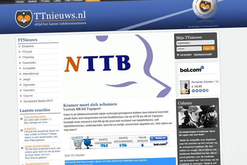 TTnieuws.nl: 'Kramer moet zich schamen' - TTnieuws.nl