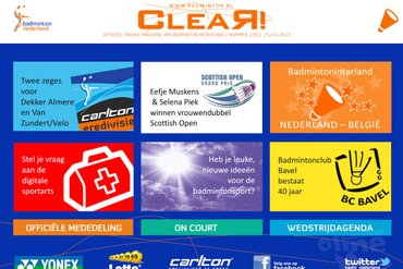 CLEAR! 220 is uit