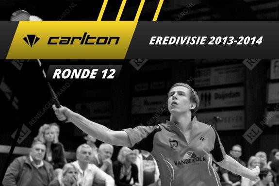 Carlton Eredivisie 2013-2014 - speelronde 12 - badmintonline / René Lagerwaard