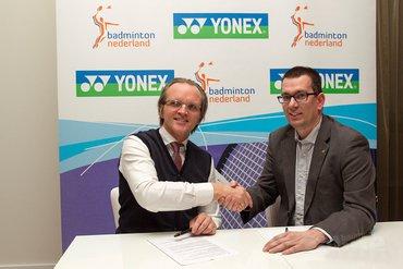 Badminton Nederland sluit hernieuwde overeenkomst met Yonex