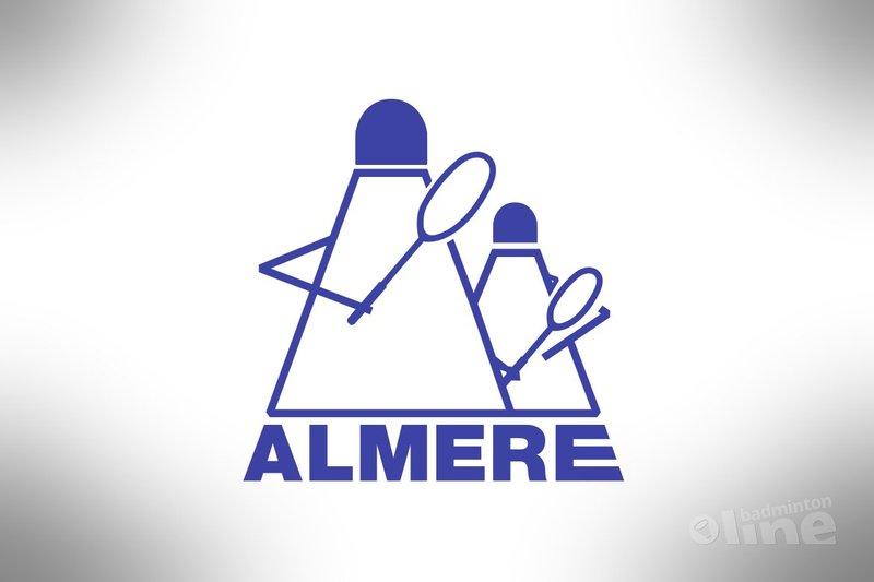 Dit weekend in de Nederlandse Badminton Eredivisie: Almere tegen Duinwijck - BV Almere