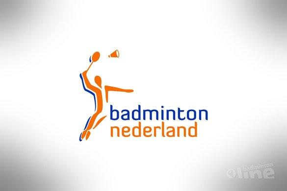 Nederlandse selectie voor EJK Onder 15 - Badminton Nederland