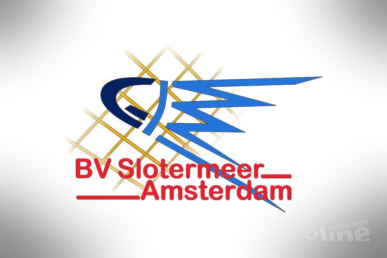 Open dag badminton bij Slotermeer Amsterdam op 3 april 2016