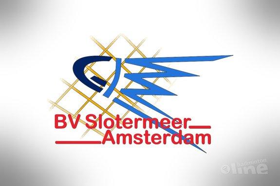 Badmintonspelend de zomer door bij BV Slotermeer - BV Slotermeer