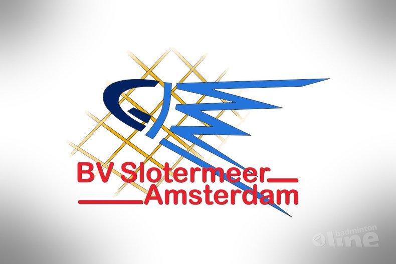 Deze afbeelding hoort bij 'Open dag badminton bij Slotermeer Amsterdam op 3 april 2016' en is gemaakt door BV Slotermeer