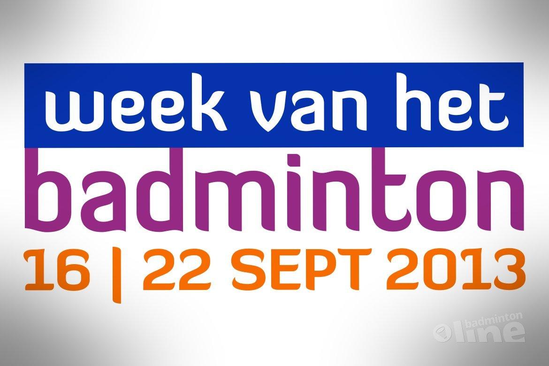 Stuur jouw nieuws in over de Week van het Badminton