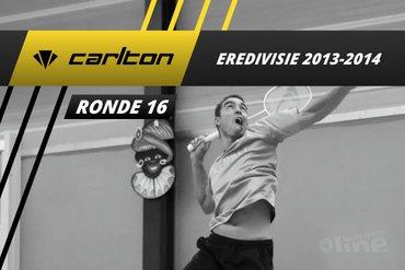 Carlton Eredivisie 2013-2014 - speelronde 16