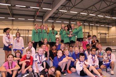 CBS de Duif wint badminton scholentoernooi
