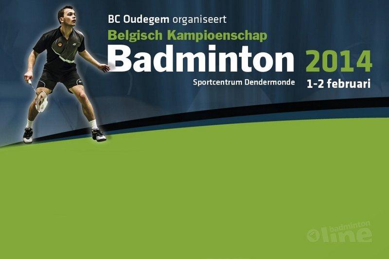 Belgisch Kampioenschap: loting gebeurd, een vooruitblik - BK Badminton 2014