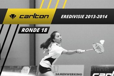 Carlton Eredivisie 2013-2014 - speelronde 18