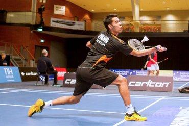 Pang kwartfinalist op EK badminton
