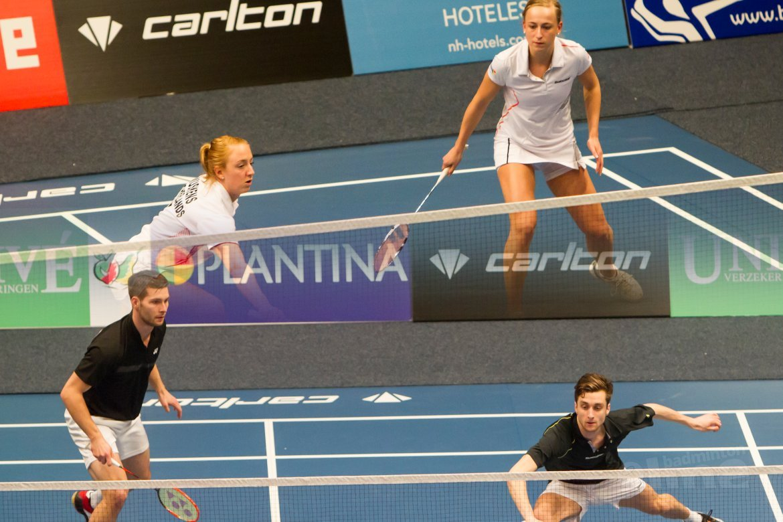 Stelling: Het is slim om de finales vrouwen- en herendubbel op een NK gelijktijdig te spelen