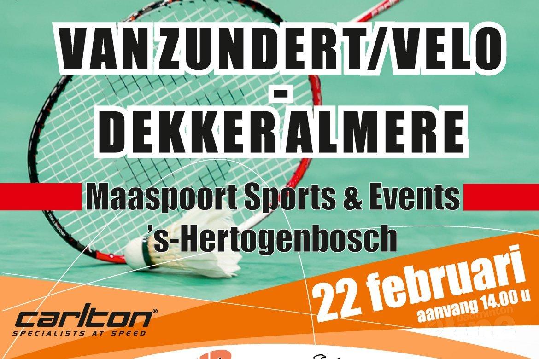 Seizoensapotheose Carlton Eredivisie op 22 februari in Den Bosch