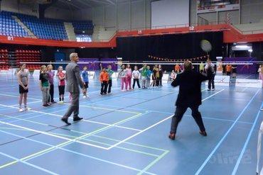 Opening Bossche Badmintondagen in de Maaspoort