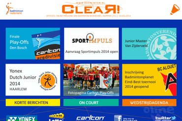 CLEAR! 231 is uit