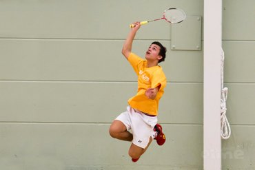 Badmintonopleiding Dennis Lens grossiert in titels
