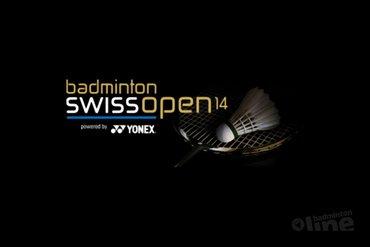 Swiss Open met wisselende resultaten