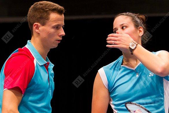 Jorrit de Ruiter en Samantha Barning naar tweede ronde in Singapore - René Lagerwaard