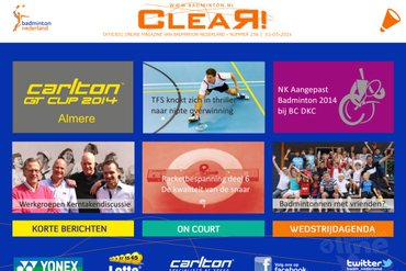 CLEAR! 236 is uit