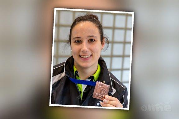 Samantha Barning: 'Brons op EK!' - René Lagerwaard / badmintonline