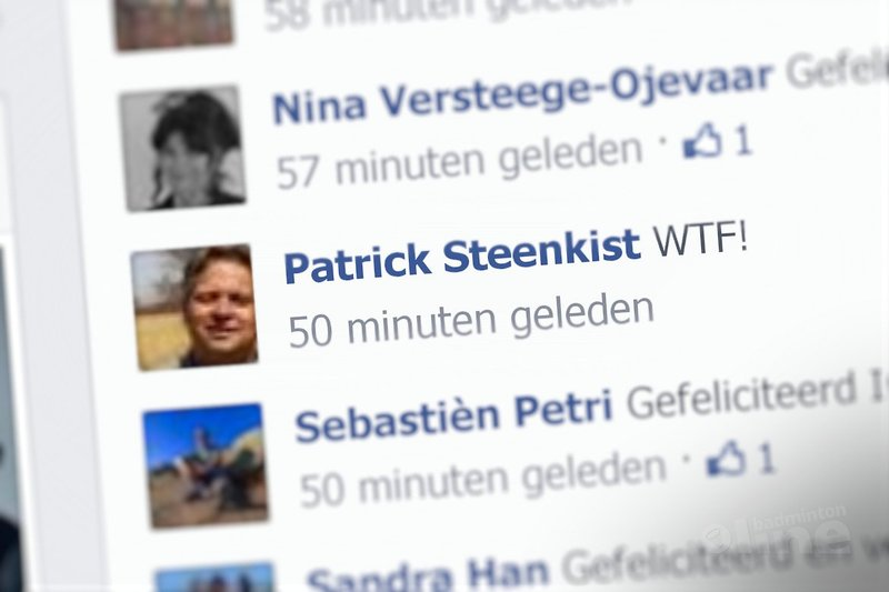 Patrick Steenkist over de transfer van Imke van der Aar: 'What the fuck!' - Facebook