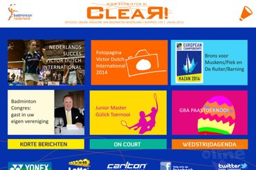 CLEAR! 239 is uit