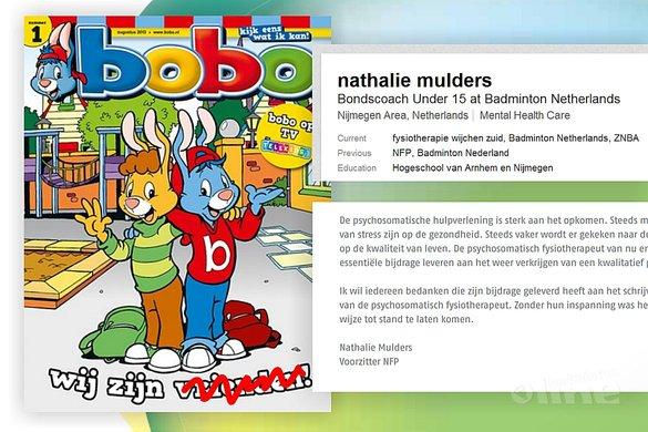 Bobo's, dat is geen verkeerde benaming - Blinkers Uitgeverij / NVP / badmintonline