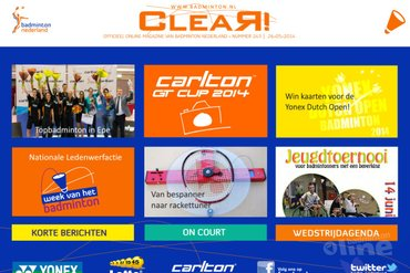 CLEAR! 243 is uit