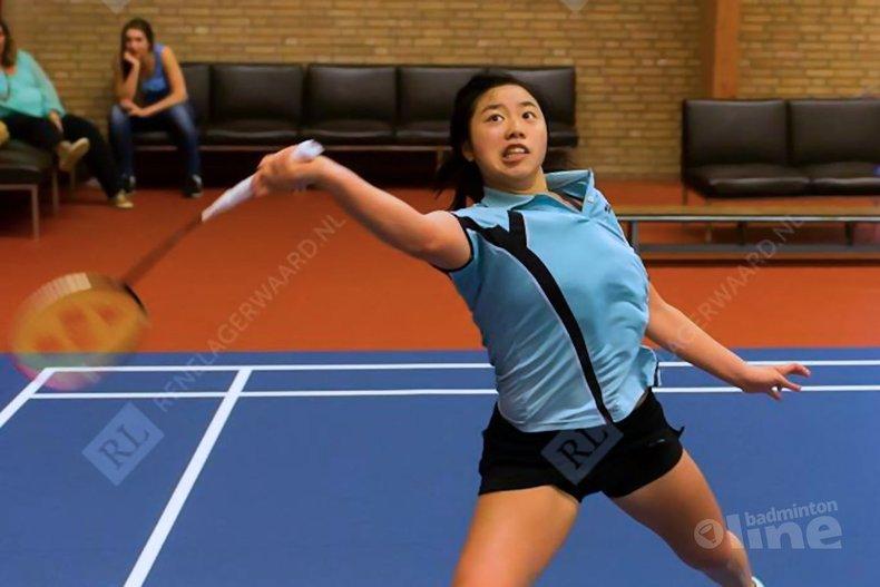 Deze afbeelding hoort bij 'Saber Afif en Alida Chen winnen Master-toernooi van Almere' en is gemaakt door René Lagerwaard