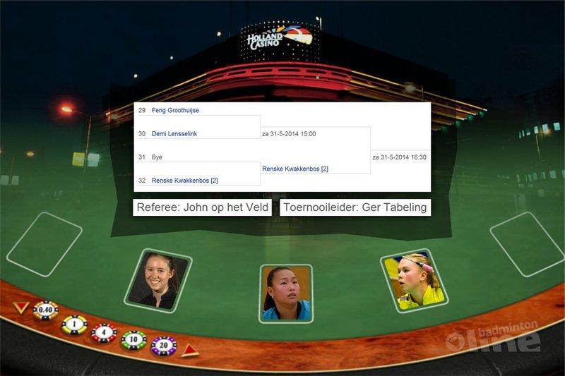 Toeval? Of gewoon een vies spelletje van Badminton Nederland... - badmintonline