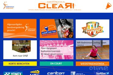 CLEAR! 246 is uit