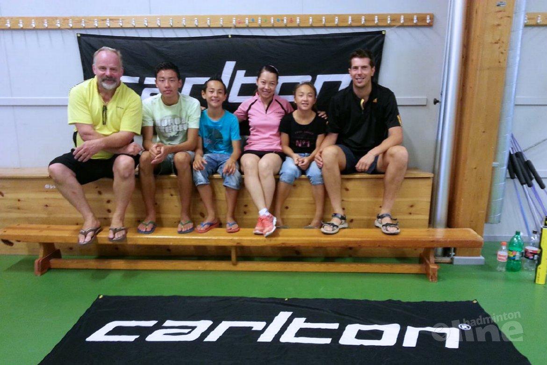 Wat is dit badmintonkamp leuk!