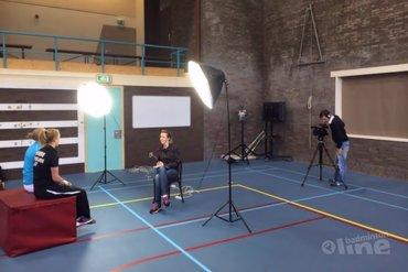 Badminton Unlimited filmt vandaag op Papendal