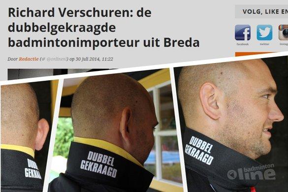 Fleet-man Richard Verschuren is #allin: dubbelgekraagd met genoegen - Fleet Nederland