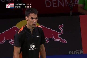 Pang strandt in kwartfinale WK badminton