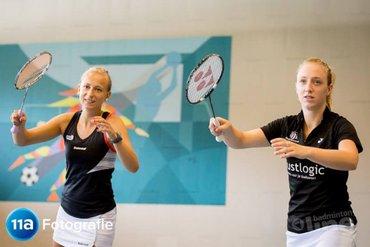 Eefje en Selena tegen nr 4 van de wereld in German Open