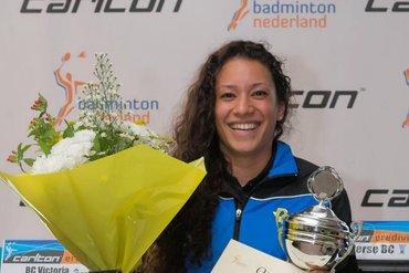Jerry Natenstedt en Lisa Khoeblal-Malaihollo winnaars Carlton Master Circuit 2014