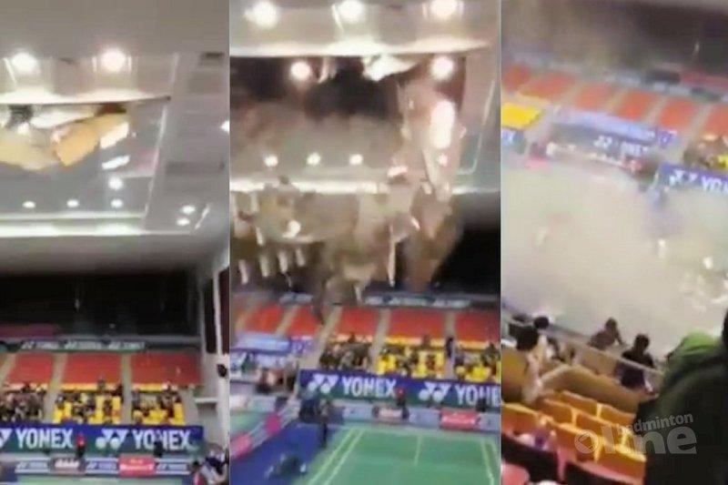 Yonex-Sunrise Vietnam Open back on track after roof collapse - Facebook