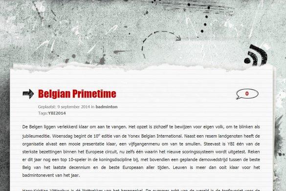 FederNees: Belgian Primetime - Peter Nees