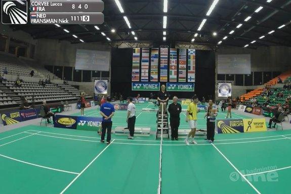 Acht oranje gekleurde kwartfinales bij de Belgian International - Badminton Europe