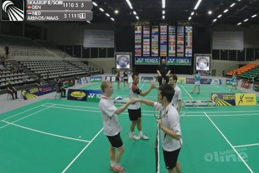 Vijf Nederlandse koppels in finales Belgian International