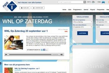 NPO Radio 1: Lotte Jonathans en Clemens Wortel bij Wakker Nederland