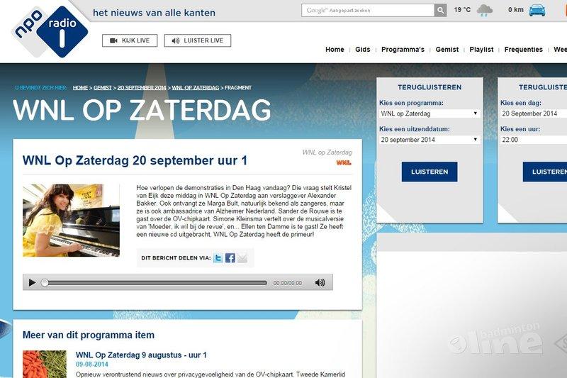 NPO Radio 1: Lotte Jonathans en Clemens Wortel bij Wakker Nederland - NPO Radio 1