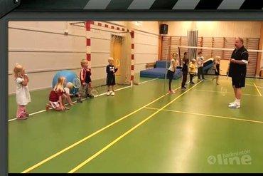 Badminton vanaf vier jaar?