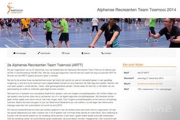 Tweede Alphense Recreanten Team Toernooi