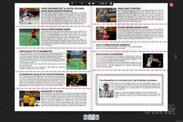Dagkrant woensdag 8 oktober 2014 - Yonex Dutch Open