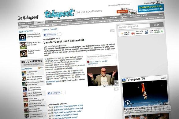 Cor van der Geest: centraal trainen op Papendal!? - Telegraaf