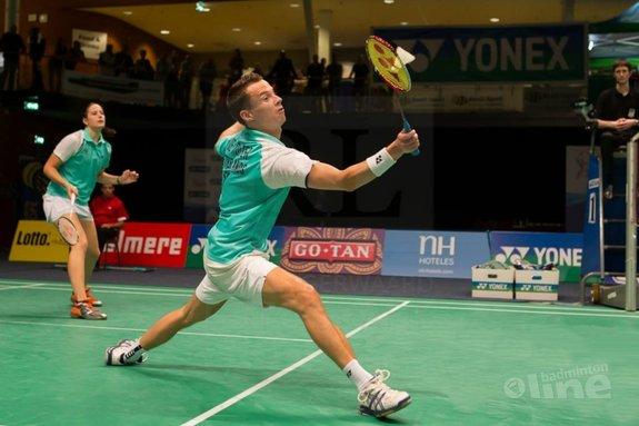 Deze afbeelding hoort bij 'Zilver op de Yonex Dutch Open: dankzij of ondanks nieuw scoringssysteem?' en is gemaakt door René Lagerwaard